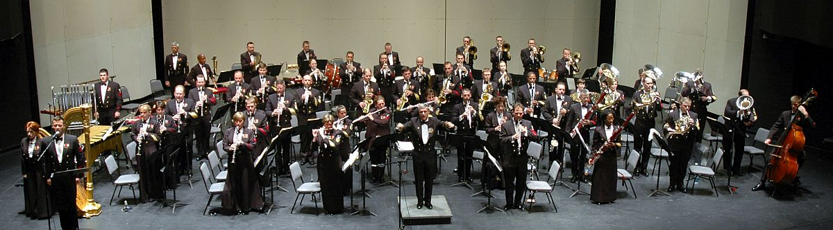 U.S. Navy Band Recording Session